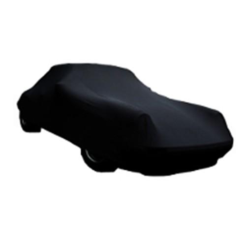 CAR COVER PERFECT STRETCH ZWART XL