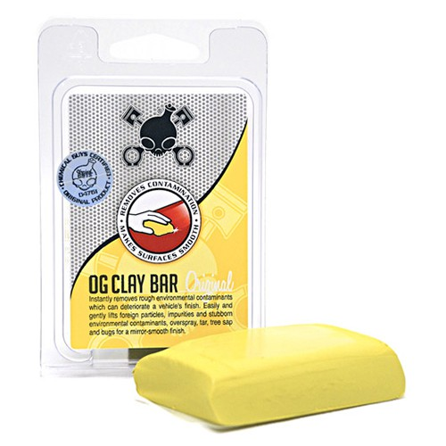 CHEMICAL GUYS CLAY BAR YELLOW (LIGHT/MEDIUM DUTY)