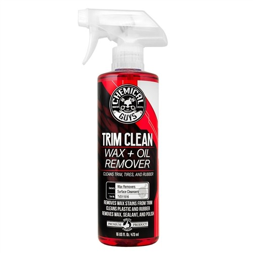 CHEMICAL GUYS TRIM CLEAN WAX + OIL REMOVER 16OZ/473ML