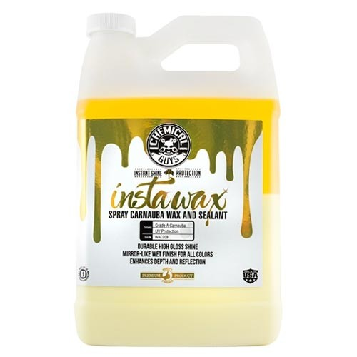 CHEMICAL GUYS INSTAWAX + CARNAUBA WAX + SEALANT GALLON