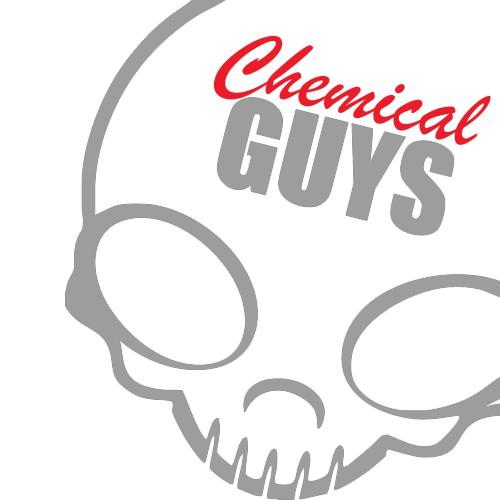 STICKER CHEMICAL GUYS HALF SKULL