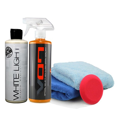 HYBRID V7 / V07 & WHITE LIGHT DETAILER'S RADIANT FINISH KIT FOR WHITE AND LIGHT COLORS