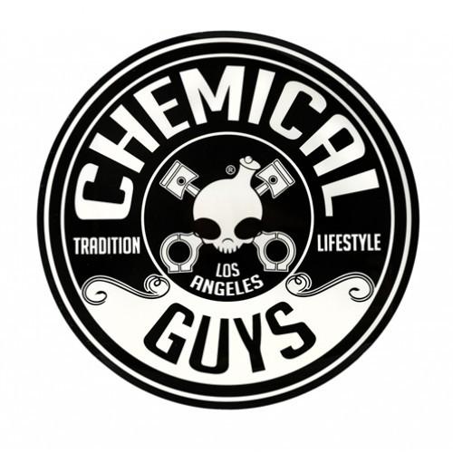 "CHEMICAL GUYS LOGO STICKER, CIRKEL (5"" / 125MM)"