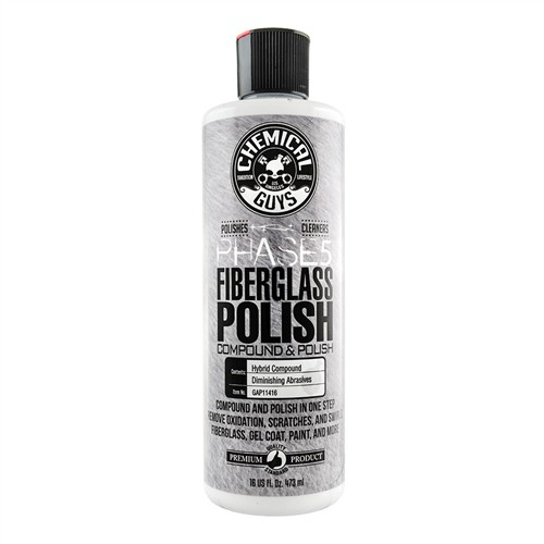 CHEMICAL GUYS PHASE 5 FIBERGLASS (POLYESTER) POLIJST MIDDEL 473ML