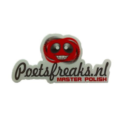 POETSFREAKS.NL DECAL WHITE / POETSFREAKS.NL STICKER WIT
