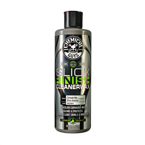 CHEMICAL GUYS SLICK FINISH CLEANER WAX (LAKREINIGER)