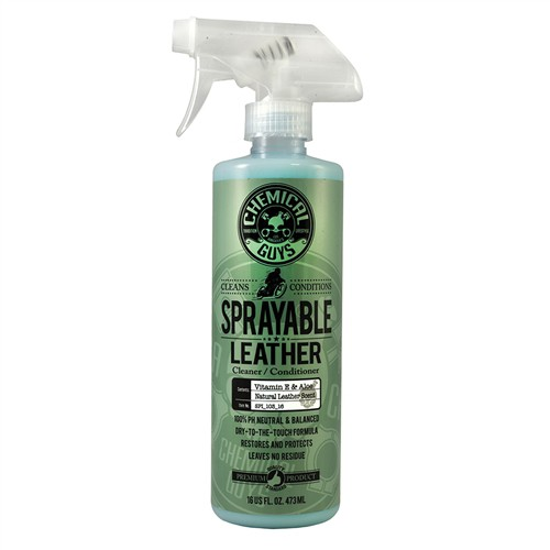 CHEMICAL GUYS SPRAYABLE LEATHER CONDITIONER & CLEANER