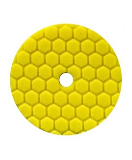 CHEMICAL GUYS 5,5 INCH GEEL HEX-LOGIC QUANTUM HEAVY CUTTING POLIJSTPAD
