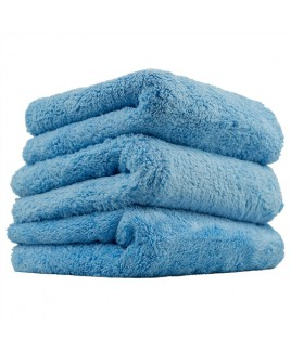 CHEMICAL GUYS HAPPY ENDING EDGELESS MICROFIBER TOWEL, BLUE, 40X40CM