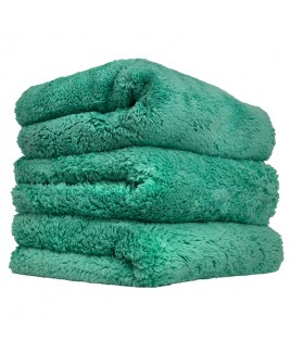 CHEMICAL GUYS HAPPY ENDING EDGELESS MICROFIBER TOWEL, GROEN, 40X40CM