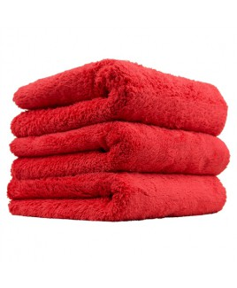 CHEMICAL GUYS HAPPY ENDING EDGELESS MICROFIBER TOWEL, RED, 40X40CM