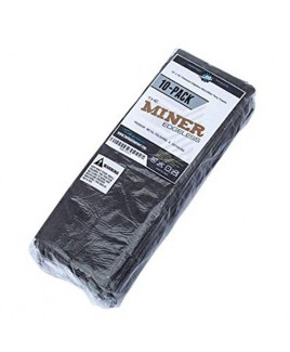 THE RAG COMPANY - EDGELESS 365 PREMIUM MICROFIBER TOWELS - THE MINER - 10 PACK