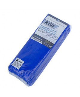THE RAG COMPANY - EDGELESS 365 PREMIUM MICROFIBER TOWELS - ROYAL BLUE