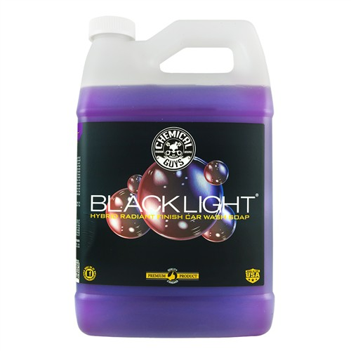 CHEMICAL GUYS BLACK LIGHT HYBRID RADIANT FINISH CAR WASH SOAP AUTOSHAMPOO GALLON