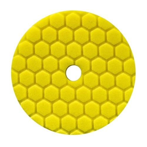CHEMICAL GUYS 5 INCH GEEL HEX-LOGIC QUANTUM HEAVY CUTTING POLIJSTPAD