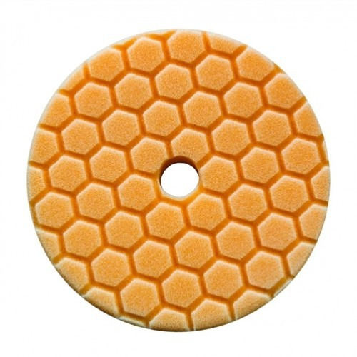 CHEMICAL GUYS 5 INCH ORANJE HEX-LOGIC QUANTUM MEDIUM CUTTING POLIJSTPAD