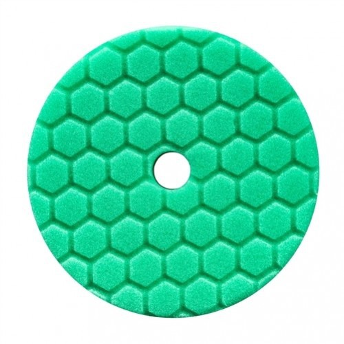 CHEMICAL GUYS 5 INCH GROEN HEX-LOGIC QUANTUM HEAVY POLISHING POLIJSTPAD