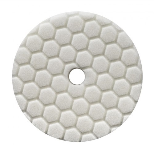 CHEMICAL GUYS 5,5 INCH WIT HEX-LOGIC QUANTUM MEDIUM POLISHING POLIJSTPAD