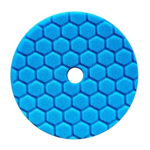 CHEMICAL GUYS 5 INCH BLAUW HEX-LOGIC QUANTUM SOFT POLISHING POLIJSTPAD