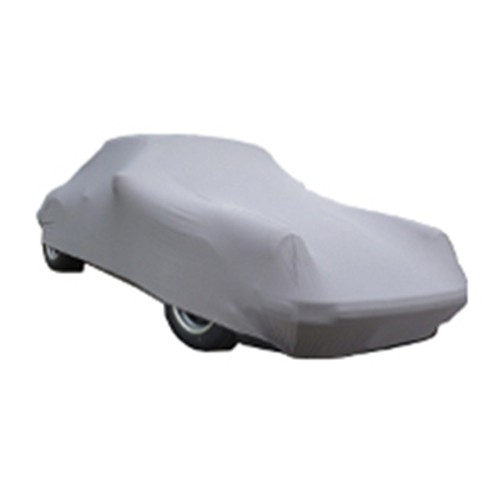 CAR COVER PERFECT STRETCH GRIJS / ZILVER XXXL