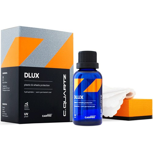 CARPRO CQUARTZ DLUX PLASTIC AND WHEEL COAT 30ML