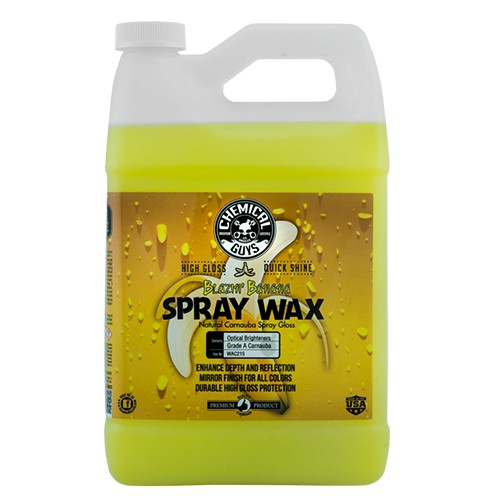 CHEMICAL GUYS BLAZIN' BANANA SPRAY CARNAUBA GLOSS WAX (3,8L/GALLON)