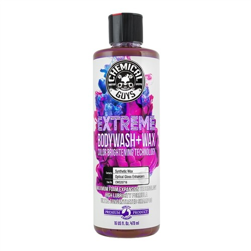 CHEMICAL GUYS EXTREME BODYWASH + WAX 473ML