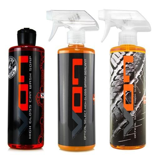 CHEMICAL GUYS HYBRID V7 / V07 KIT - SHAMPOO - SPRAY SEALANT - BANDEN DRESSING