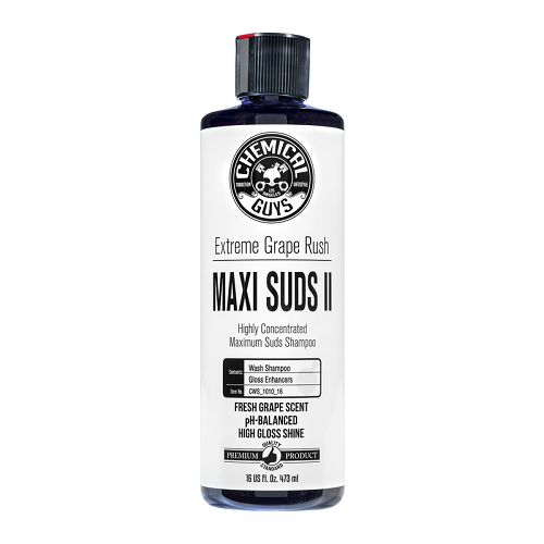 CHEMICAL GUYS MAXI SUDS II EXTREME GRAPE RUSH AUTOSHAMPOO 473ML