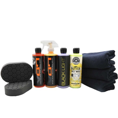CHEMICAL GUYS DARK CAR HAND APPLICATION KIT