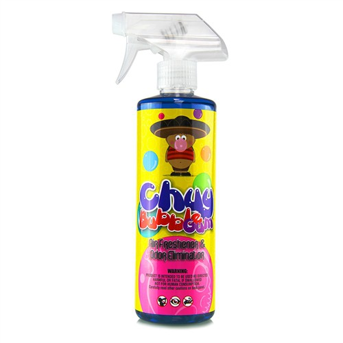 CHEMICAL GUYS CHUY BUBBLE GUM SCENT PREMIUM AIR FRESHENER & ODOR ELIMINATOR