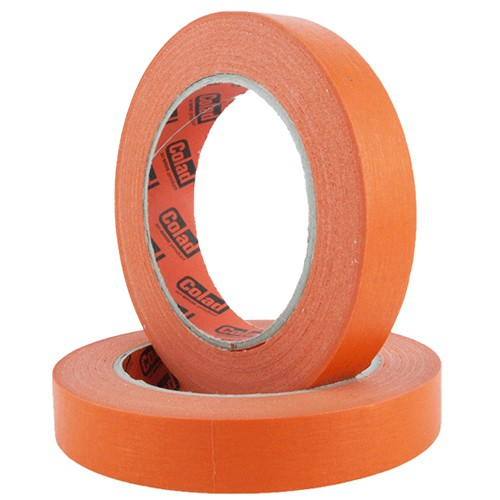 COLAD ORANGE MASKEERTAPE 19MM - 5 ROLLEN