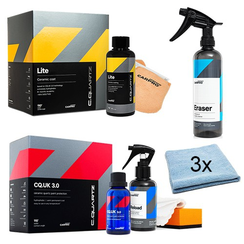 CARPRO CQUARTZ COATING KIT - CQ UK 3.0 + LITE