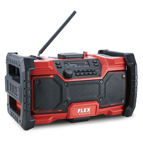 FLEX RD 10.8/18.0/230 - DIGITALE ACCU/230V BOUW RADIO