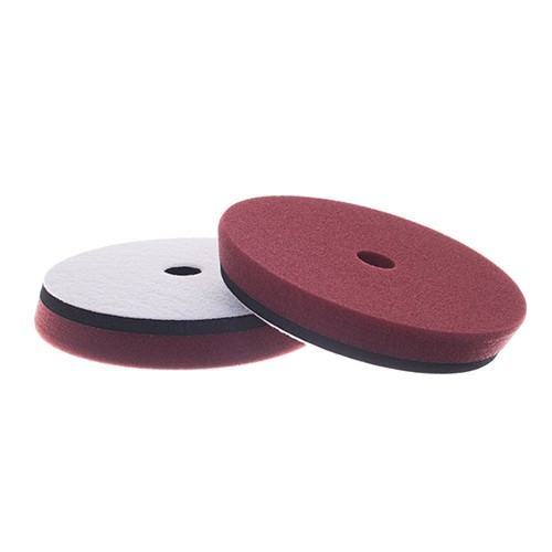 "DS SANDWICH PAD MAROON HEAVY CUT / COMPOUND 6"" / 165MM"
