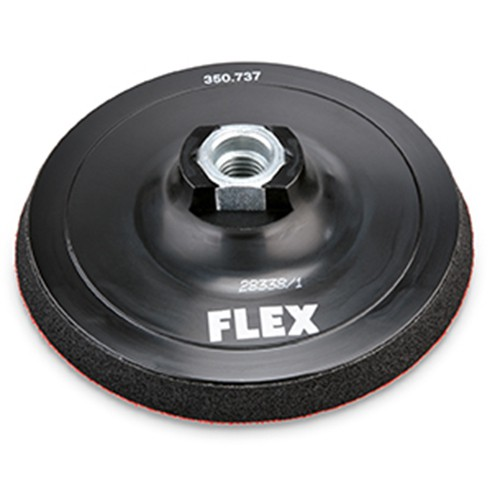 FLEX BP-M D125 M14 VELCRO STEUNSCHIJF, GEDEMPT M14