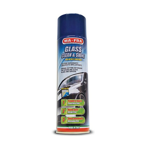 MA-FRA GLASS CLEAN & SHINE AEROSOL - 500ML