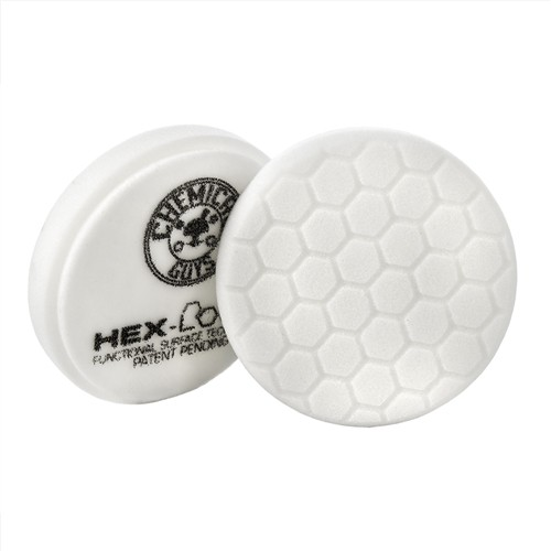 CHEMICAL GUYS HEX LOGIC 6,5 INCH - WHITE