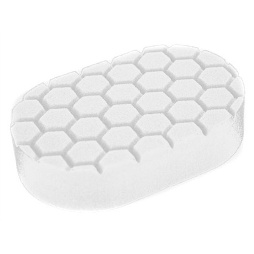 CHEMICAL GUYS HEX LOGIC WHITE (POLISHING) HAND APPLICATOR PAD