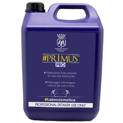 LABOCOSMETICA #PRIMUS MULTI PURPOSE PRE-WASH FOR CARS & MOTORCYCLES 4500ML