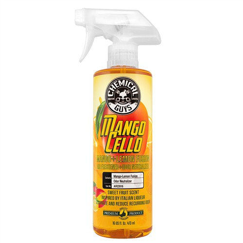 CHEMICAL GUYS MANGOCELLO MANGO AIR SOURCE - PREMIUM AIR FRESHENER AND ODOR NEUTRALIZER