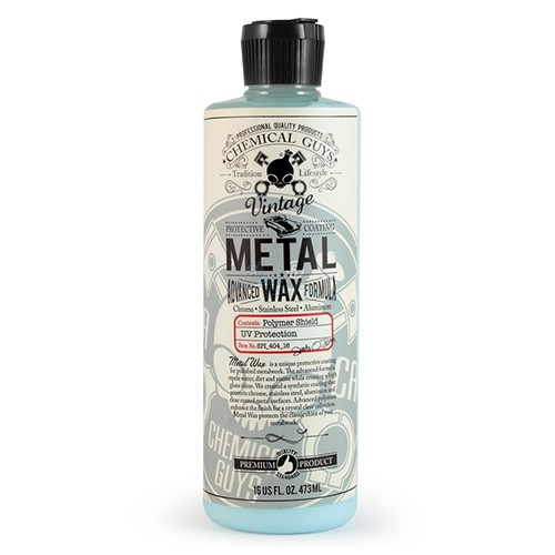 CHEMICAL GUYS ADVANCE FORMULA METAL WAX