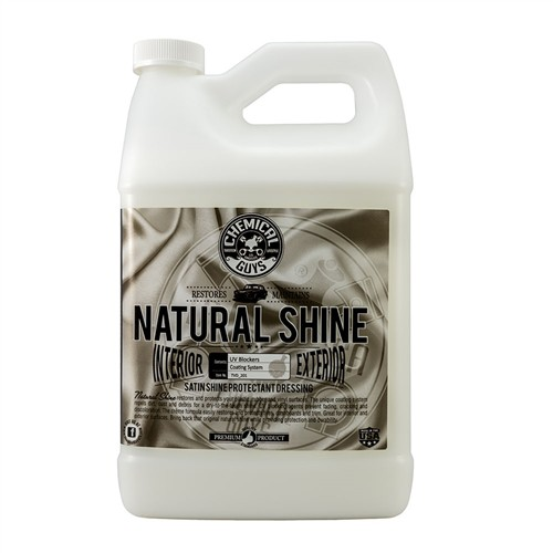CHEMICAL GUYS NATURAL SHINE INTERIOR-EXTERIOR PROTECTANT DRESSING GALLON