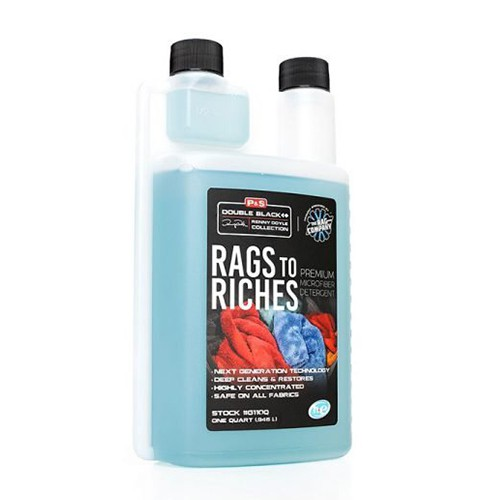 P&S RAGS TO RICHES MICROFIBER WASH 946ML/32OZ