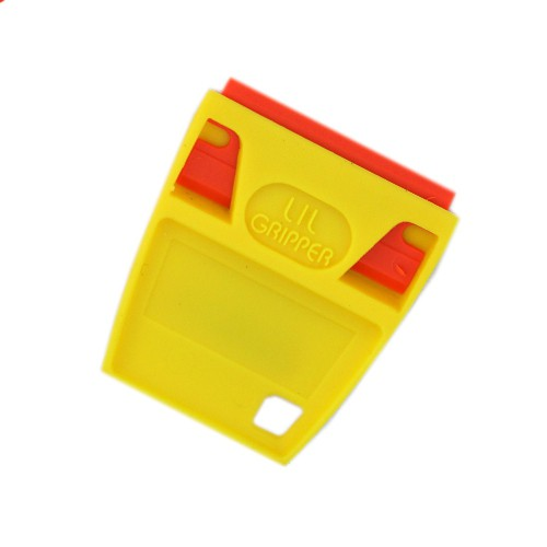 SCRAPERITE PLASTIC LITTLE B-GRIPPER INCL. RAZOR BLADE - KUNSTSTOF SCHRAPER / STICKERVERWIJDERAAR