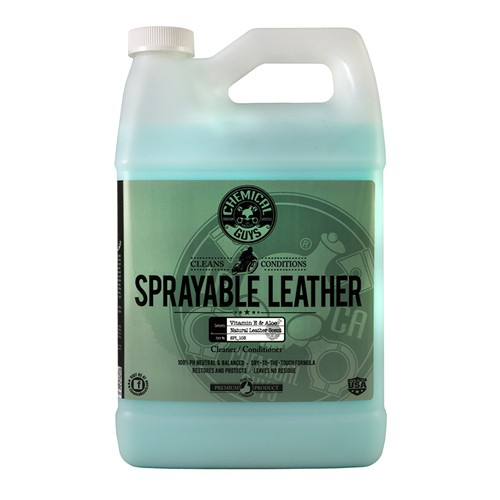 CHEMICAL GUYS SPRAYABLE LEATHER CONDITIONER & CLEANER GALLON