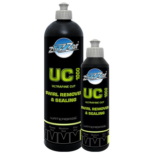 ZVIZZER UC 1000 ULTRA FINE CUT SWIRL REMOVER & SEALING 750ML