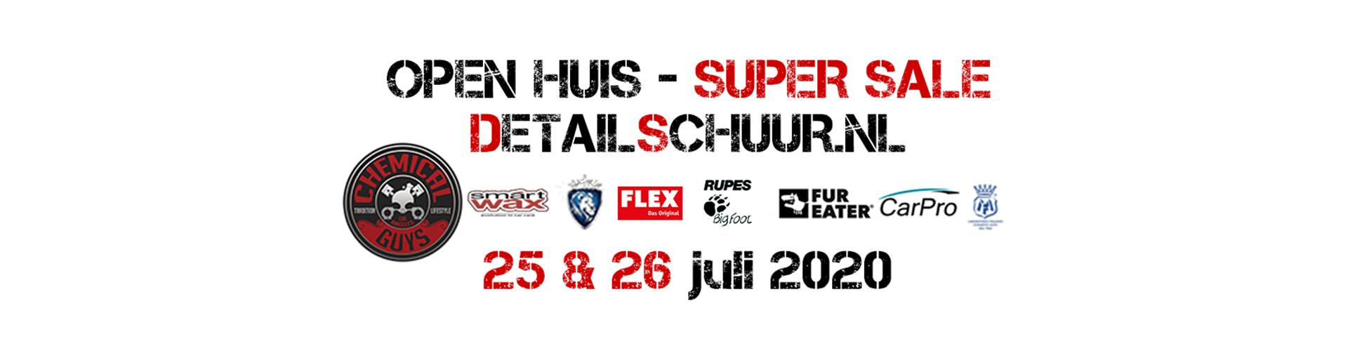 25 & 26 juli 2020 - Open Huis Detailschuur.nl
